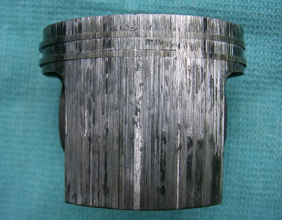 Heat Seized Piston